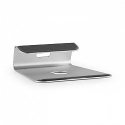 Auna A-ST-1, strieborný, stojan na notebook, 18° sklon, hliník