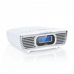 Auna Dreamee DAB+, rádiobudík, CD prehrávač, DAB+/FM, CD-R/RW/MP3, AUX, retro, biely