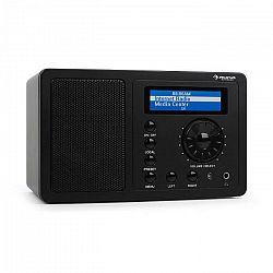 Auna IR-130 internetové rádio, WLAN, čierne, streaming