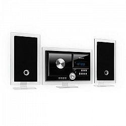 Auna Stereo Sonic, DAB+ stereo systém, DAB+, CD prehrávač, USB, BT, čierny