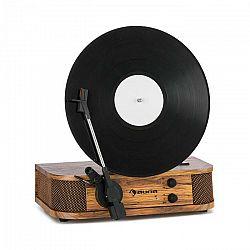 Auna Verticalo SE, retro gramofón, USB, BT, linkový výstup, drevo