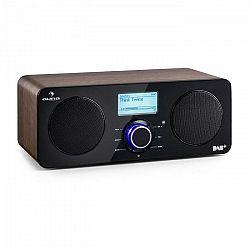 Auna Worldwide Stereo internetové rádio Spotify Connect App Control vlašský orech