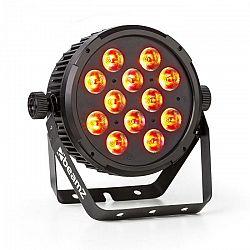 Beamz BT310 FlatPAR 12x 8W 4-v-1-LEDs RGBAW-UV DMX IR-diaľkové ovládanie