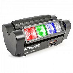 Beamz MHL820, 24 W, lištový svetelný efekt sdvojitými lúčmi, 8 x 3 W RGBW LED, DMX, infračervený diaľkový ovládač