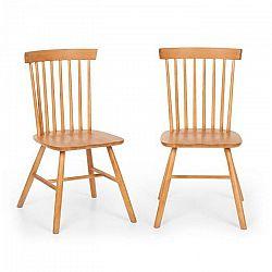 Besoa Fynn, pár drevených stoličiek, bukové drevo, windsor dizajn, drevo