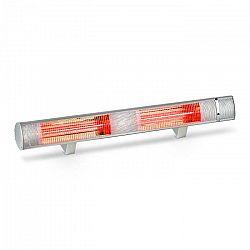 Blumfeldt Gold Bar 3000, infračervený ohrievač, 1000 - 3000 W, IP65, hliník, strieborný