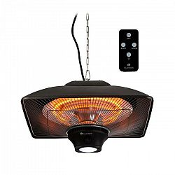 Blumfeldt Heat Square, infračervený ohrievač, 1000 / 2000 W, Carbon, IP34, LED