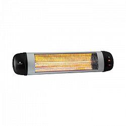 Blumfeldt Rising Sun Zenith, ohrievač, 2500 W, IP34, diaľkový ovládač, strieborný