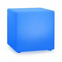 Blumfeldt Shinecube XL, svietiaca kocka, 40 x 40 x 40 cm, 16 LED farieb, 4 svetelné režimy, biela