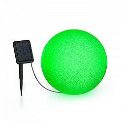 Blumfeldt Shinestone Solar 40, guľová lampa, solárny panel, Ø 40 cm, RGB-LED, IP68, akumulátor