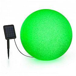 Blumfeldt Shinestone Solar 50, guľová lampa, solárny panel, Ø 50 cm, RGB-LED, IP68, akumulátor
