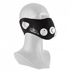 Capital Sports Breathor, čierna, dýchacia maska, výškový tréning, veľkosť M, 7 nástavcov