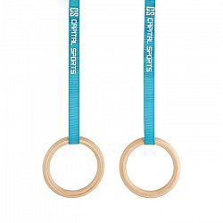 Capital Sports Comp Rings, drevené gymnastické kruhy, rýchlouzávery, popruhy
