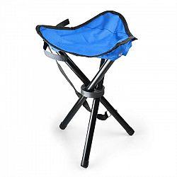 DURAMAXX Prenosná kempovacia stolička, rybárska, 500 g, modro-čierna