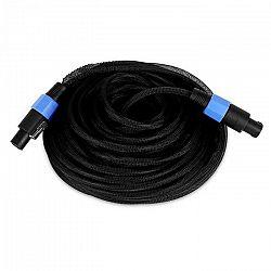 Electronic-Star 25-metrový PA kábel – 2 x 1,5 mm2, spevnené koncovky