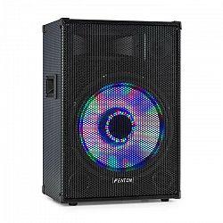 "Fenton TL15LED, 3-cestný pasívny reproduktor, RGB LED, 15"" woofer 800W, stredový horn, tweeter"