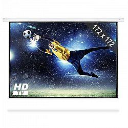 FrontStage PSAB-96, motorizované projekčné plátno, beamer, HDTV, 172x172 cm, 1:1