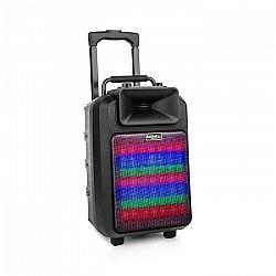 "Ibiza POWER8""ED-MKII, 120 W, prenosný PA reproduktor, bluetooth, USB/SD, FM, akumulátor"