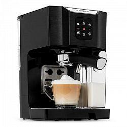 Klarstein BellaVita, kávovar, 1450 W, 20 bar, napeňovač mlieka, 3 v 1, čierny