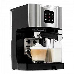 Klarstein BellaVita, kávovar, 1450 W, 20 bar, napeňovač mlieka, 3 v 1, sivý