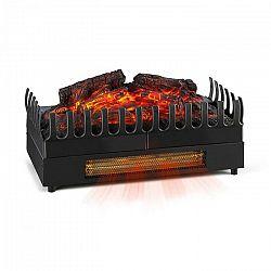 Klarstein Kamini FX, elektrický krb, krbová vložka, 1000/2000 W, 2 W LED, čierny