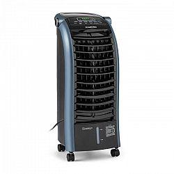 Klarstein Maxfresch Ocean, ventilátor, ochladzovač vzduchu, 6L, 65W, diaľkový ovládač, balík ľadu, modrý