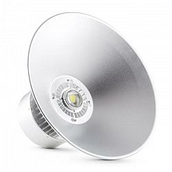 Lightcraft High Bright, 50W, LED halový reflektor, priemyselné osvetlenie hliník