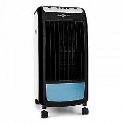 OneConcept CarribeanBlue, mobilný ochladzovač vzduchu, ventilátor, 70 W, biely/čierny
