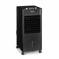 OneConcept Freshboxx, chladič vzduchu, 3 v 1, 65 W, 360 m³/h, 3 sily prúdenia vzduchu, čierny