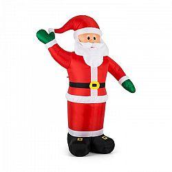 OneConcept Mr. Klaus, Klaus, 240 cm, nafukovací Santa Claus, LED