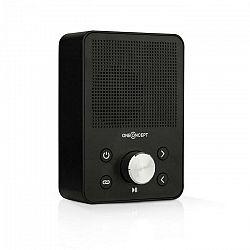 OneConcept Plug+Play FM, rádio do zásuvky, FM tuner, USB, BT, čierne