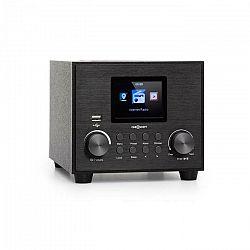 OneConcept Streamo Cube, internetové rádio, 3 W & 5 W RMS, WLAN, BT, čierne