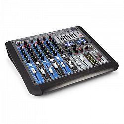 Power Dynamics PDM-S804, mixážny pult, 8-kanálový, DSP/MP3, USB port, bluetooth prijímač