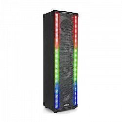 Vonyx LM65, PA reproduktor, bluetooth, 5 osvetľovacích režimov, 400W, čierna farba