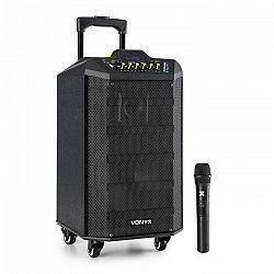 Vonyx VPS10, audio PA systém, 250W, USB/SD port, bluetooth, 12V/4,5Ah, batéria